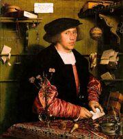 Holbein, Hans - Georg Gisze, a German merchant in London