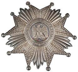 Plaque de la Légion d'honneur