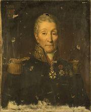 Brossard - Portrait du général baron Saunier