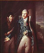 Le comte Otto de Mosloy et le comte Pelet