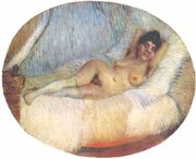 Van Gogh Nude Woman on a Bed
