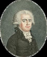 Jean Nicolas Démeunier, député de la ville de Paris, ex présidt de l'Assemblée nationale (détail)