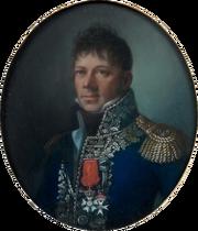 Paire de pastels ovales - Le général Maison, futur maréchal, et son épouse, vers 1810-1811 (détail)