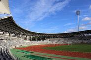 Stade Charlety intérieur de jour