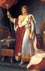 Francois Gerard - Napoleon Ier en costume du Sacre