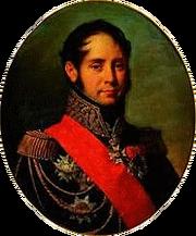 Robert Lefèvre - Portrait du général Joseph-César Michault, vicomte de Saint Mars