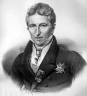 gravure, portrait de Villèle