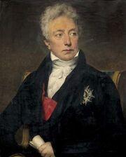 Hersent - Portrait en buste de Jacques-Claude Comte Beugnot