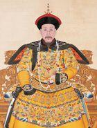 Portrait of the Qianlong Emperor in Court Dress