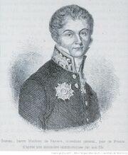 Gaetan, baron Mathieu de Faviers, intendant général, pair de France