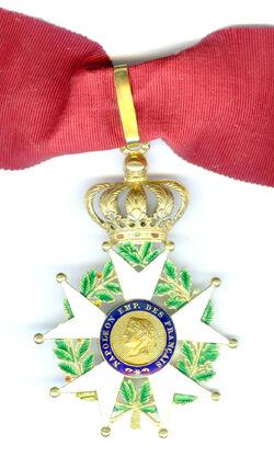 Légion d'honneur Commandeur Presidence 1851-1852