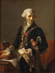 Portrait de Marie-Joseph Vien le Père (1716-1809)
