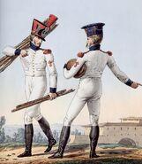 Grande Armée - Line Infantry Grenadiers in Waistcoats