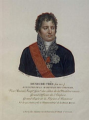 Larvin - Denis de Crès (le duc), ministre de la Marine et des colonies, né le 22 juin 1761 à Chaumont