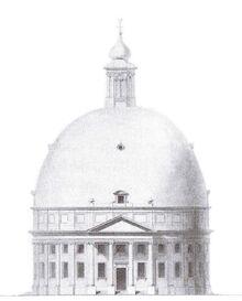 Projet d'église simultanée au Loo (projet de F.L. Gunckel en 1810)