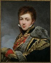 Gros - Portrait du comte Honoré de La Riboisière (1788-1868)
