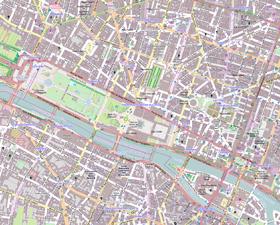 1er Arrondissement, Paris, France - Open Street Map