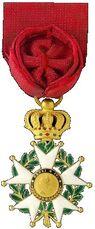Insigne d'officier de la Légion d'honneur