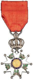 Légion d'honneur Chevalier Type 4 avers