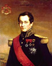 Général Comte d'Anthouard Vraincourt, grand maître de l'artillerie (1773-1852)