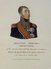 Joly - Emmanuel Grouchy, comte de l'Empire, né le 23 octobre 1766 à Paris