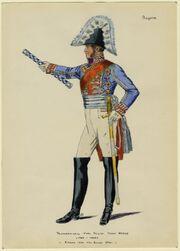 Feldmarschall Karl Philipp Furst von Wrede (1767-1838) 7 März 1814