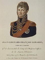 Tassaert - Jean-Léonard-François Lemarois, comte de l'Empire, né le 17 mars 1776 à Bricquebec