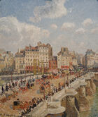 Le Pont-Neuf Camille Pissaro