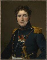 Jacques-Louis David (French, 1748–1825), Comte Henri-Amédée-Mercure de Tarenne d'Aynac, 1816