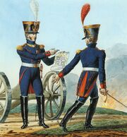 Grande Armée - Artillery-Colonel and Chef du Bataillon