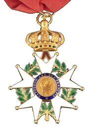 Légion d'honneur Commandeur Second Empire Avers