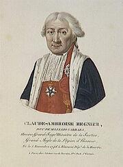 Velyn - Claude-Ambroise Régnier, duc de Massadi Carrara, né le 5 novembre 1746 à Blamont