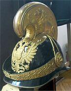 Helm eines k.u.k. Dragoneroffiziers