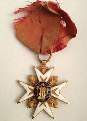 Décoration Ordre de Saint-Louis XVIIIe