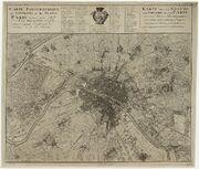 Carte topographique des environs et du plan de Paris - 1735 - btv1b8442730b