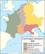 Carolingian territorial divisions, 855.png