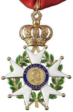 Légion d'honneur Commandeur Monarchie de Juillet