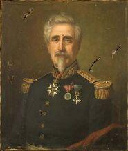 Dorange - Portrait du général Hardy de La Largère