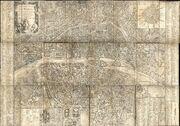 Plan de Paris en 1787 par Brion de la Tour