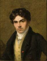 Retrato de Eugène Delacroix, c. 1825 por Thales Fielding, Musée Eugene Delacroix (CW16-11)