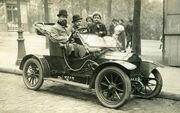 A Brouhot car in Paris, 1910