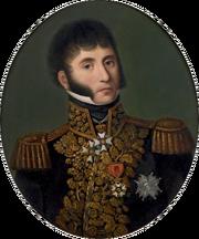 Portrait du général Baron F. J. Gressot