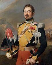Gosse - Portrait de Charles Gabriel César Comte Gudin, colonel du 2e régiment de lanciers de 1839 à 1846