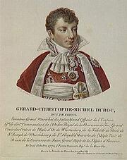 Velyn - Gérard-Christophe-Michel Duroc, duc de Frioul, né le 25 octobre 1772 à Pont-à-Mausson