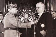 Vincent Auriol - Grand collier de la Légion d'honneur (détail)
