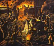 Napoleon Moscow Fire