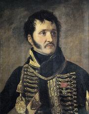 Louise Adélaïde Desnos, née Robin (1807-1870) - Le général Jean-Baptiste Delonne-Franceschi (1767-1810)