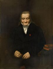 Pineu-Duval - Portrait d'Alexandre Amury-Duval, père de l'artiste
