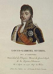 Tassaert - Louis-Gabriel Suchet, duc d'Albufera, né en 1770 à Lyon