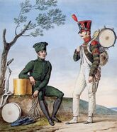 Grande Armée - Light Infantry Drummers